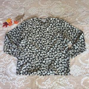 Vintage Oscar de la Renta blouse size 16